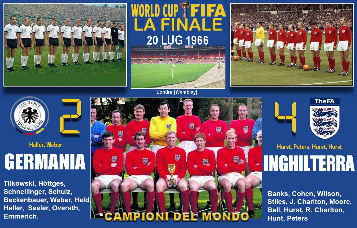 Risultati immagini per campionato mondiale di calcio 1966